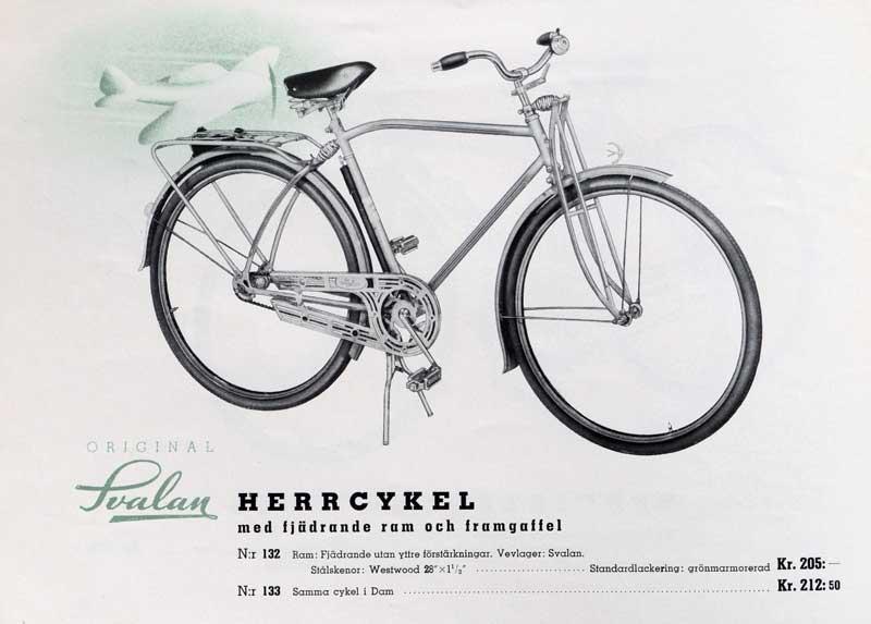 Lækker Svalan cykel 1941 XQ-39